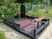 Благоустойство мест захоронений и установка памятников под ключ Полоцк